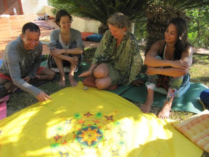 Group Mandala, Yoga Retreat, L'Estartit, Spain