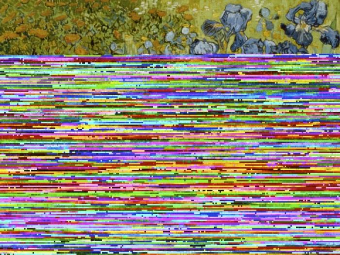 Irises by Vincent van Gogh --- Image by © J.P.GETTY TRUST/CORBIS SYGMA